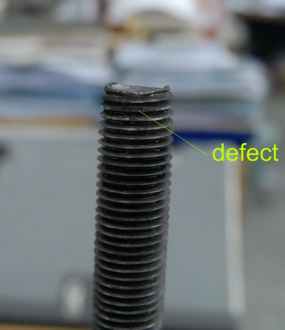 Goodni Disqualified Stud Bolt, สตัดห่วยๆ ของ China Goodni  Industrial