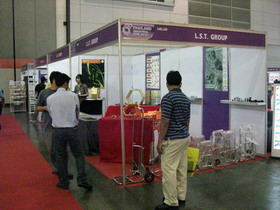L.S.T. Group in Thailand Industrial Fair 2010